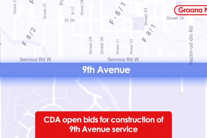 CDA open bids for construction of 9th Avenue service road