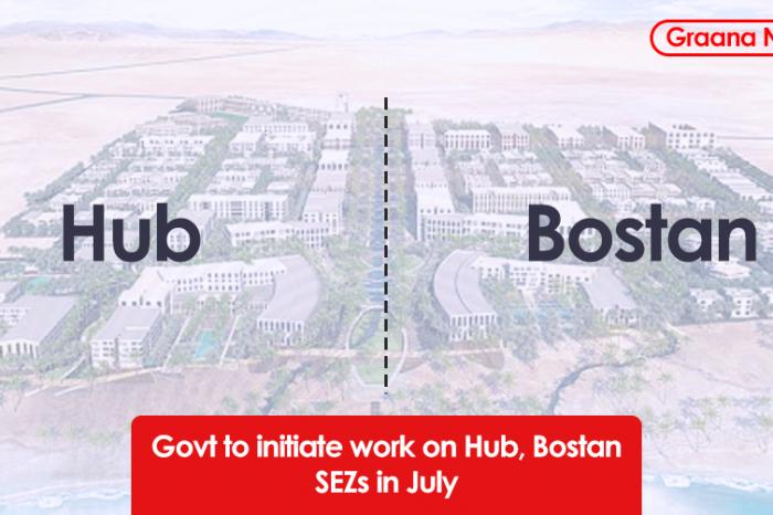 Govt to initiate work on Hub, Bostan SEZs in July