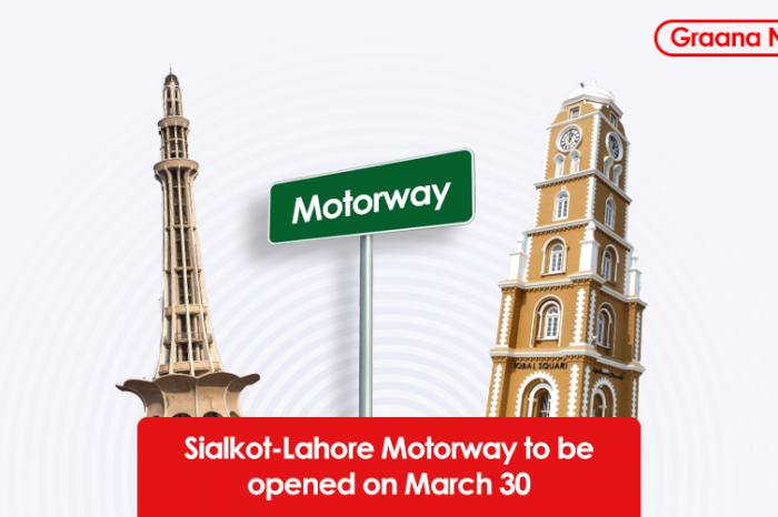 Sialkot-Lahore Motorway to be opened on March 30