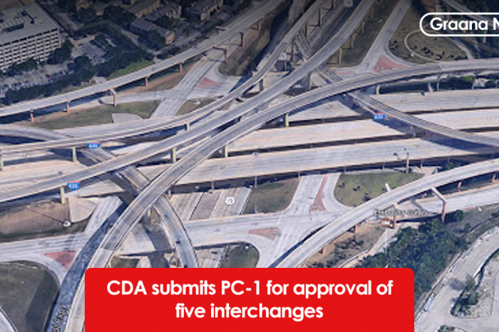 CDA submits PC-1 for approval of five interchanges