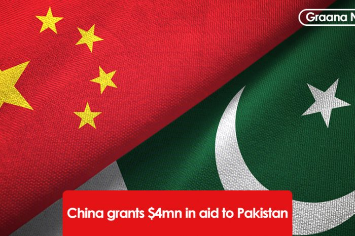 China grants $4mn in aid to Pakistan