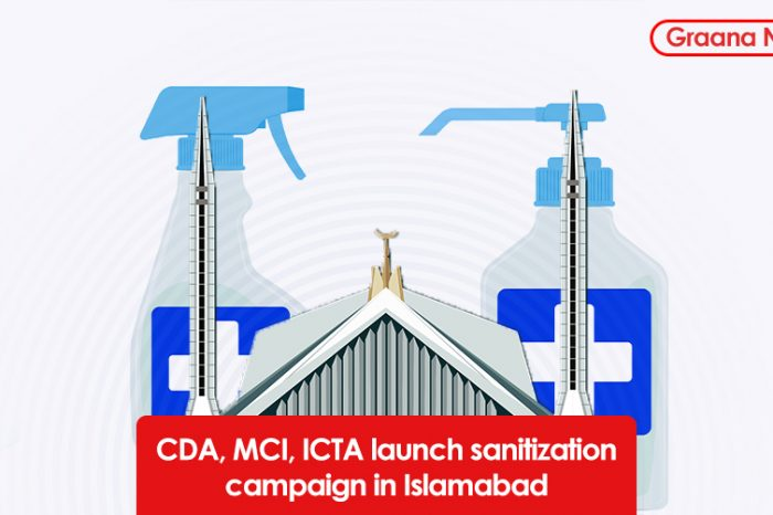 CDA, MCI, ICTA launch sanitization campaign in Islamabad