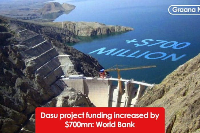 Dasu project funding increased by $700mn: World Bank