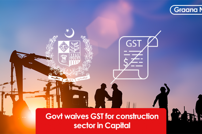 Govt waives GST for construction sector in Capital