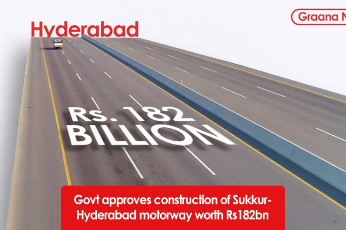 Govt approves construction of Sukkur-Hyderabad motorway worth Rs182bn