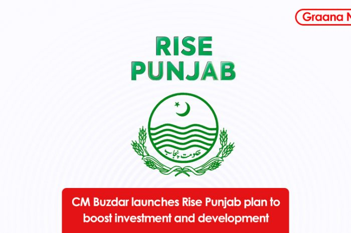 CM Buzdar launches Rise Punjab plan to boost investment and development