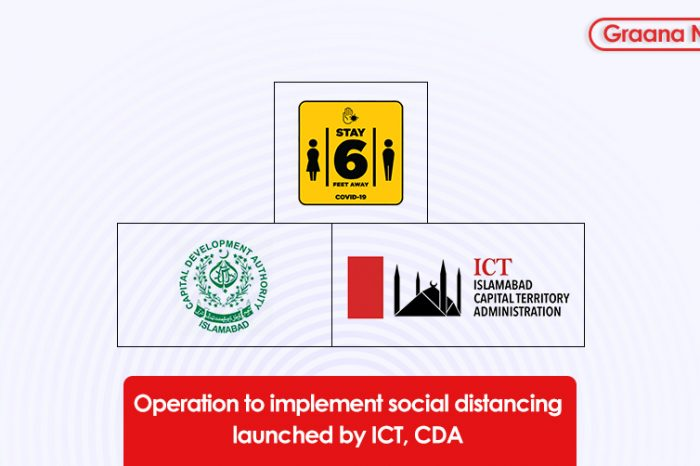 Operation to implement social distancing launched by ICT, CDA