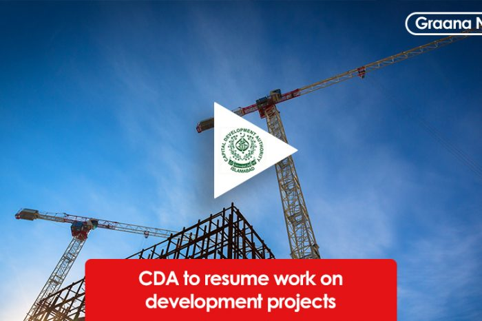 CDA to resume work on development projects