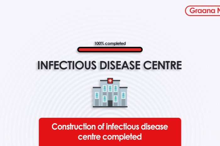 Construction of infectious disease centre completed