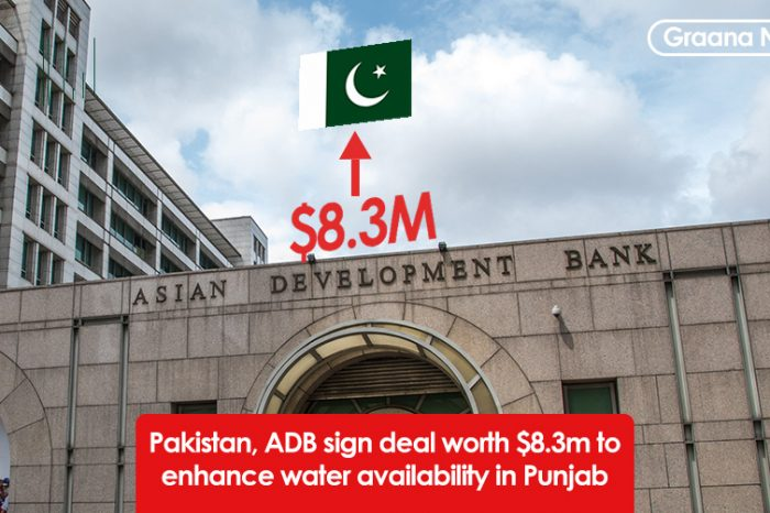Pakistan, ADB sign deal worth $8.3m to enhance water availability in Punjab