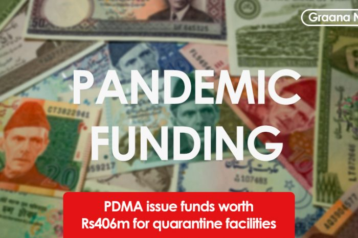PDMA issue funds worth Rs406m for quarantine facilities