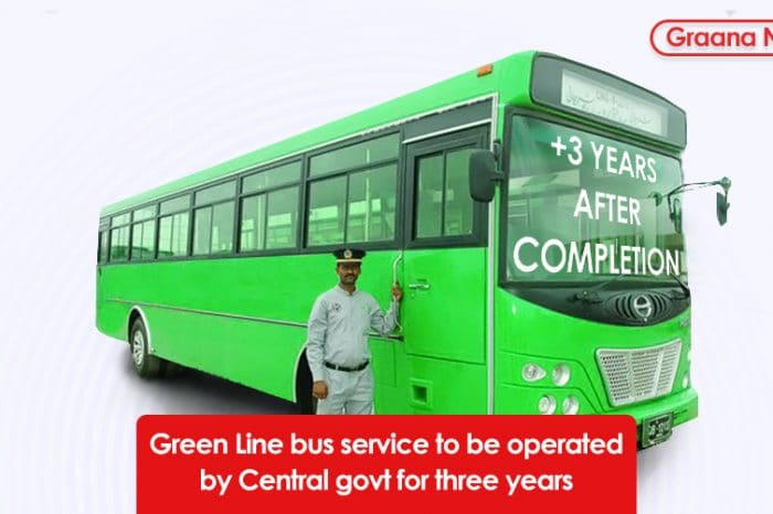 Green Line bus service to be operated by Central govt for three years