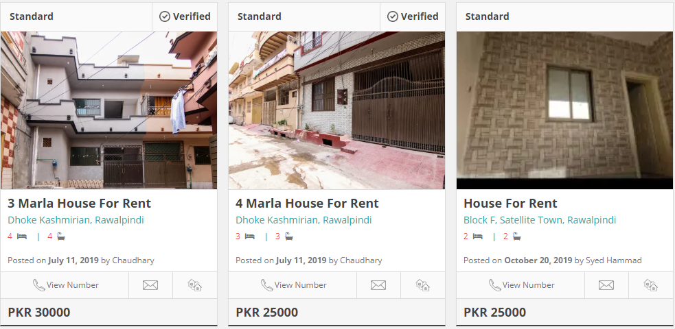 houses for rent in satellite town rawalpindi