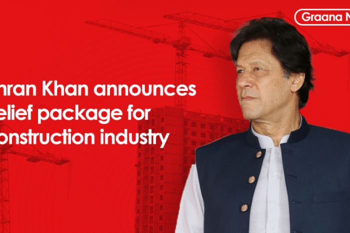 Imran Khan announces relief package for construction industry