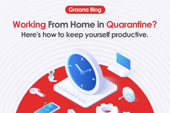 Working From Home in Quarantine? Here's how to keep yourself productive.