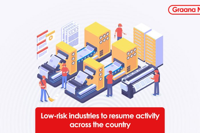 Low-risk industries to resume activity across the country