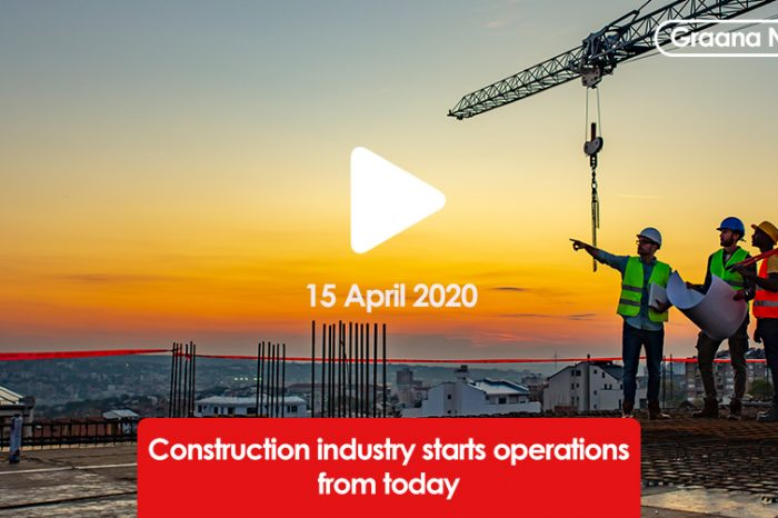 Construction industry starts operations from today