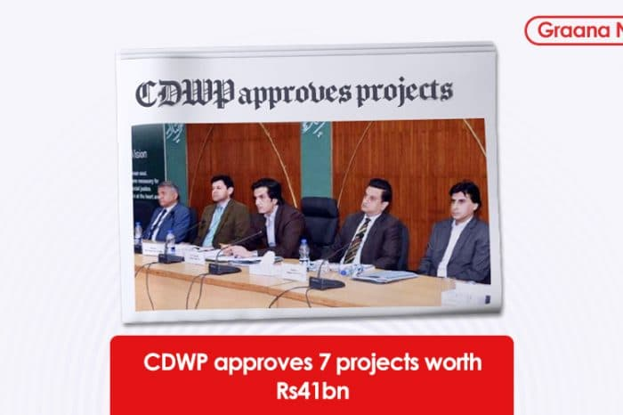 CDWP approves 7 projects worth Rs41bn