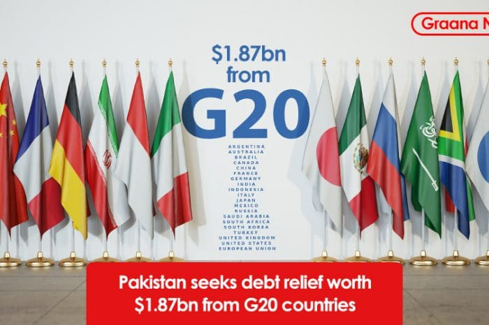 Pakistan seeks debt relief worth $1.87bn from G20 countries