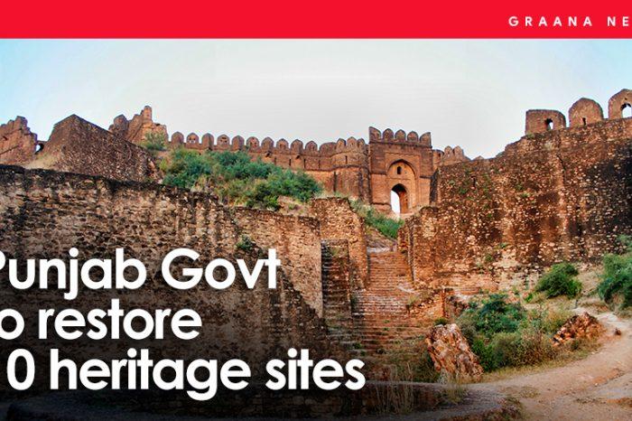 Punjab Govt to Restore 10 Heritage Sites