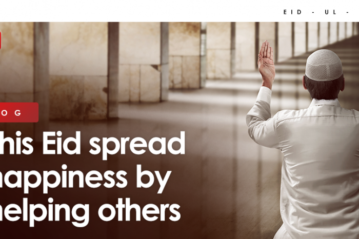 This Eid spread happiness by helping others