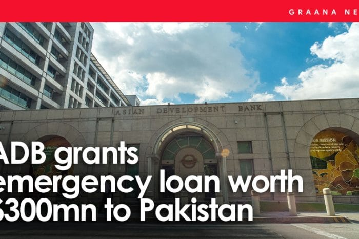 ADB grants emergency loan worth $300mn to Pakistan