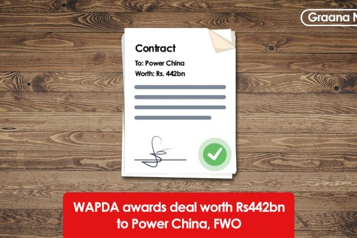 WAPDA awards deal worth Rs442bn to Power China, FWO