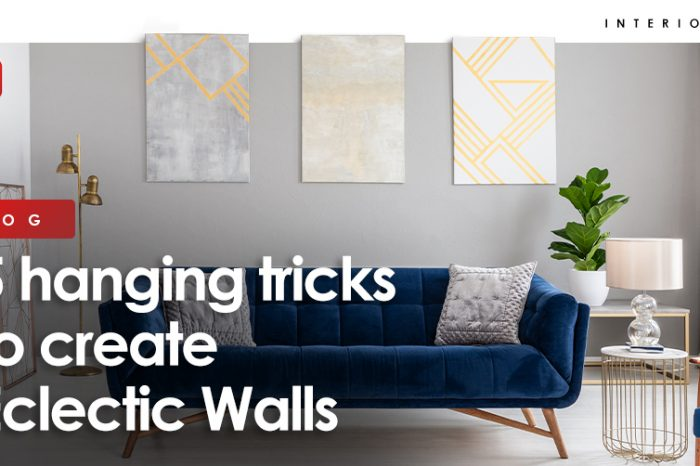 5 hanging tricks to create Eclectic Walls
