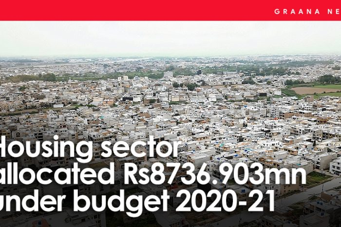 Housing sector allocated Rs8736.903mn under budget 2020-21