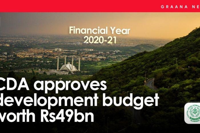 CDA approves development budget worth Rs49bn