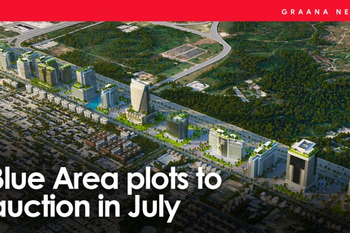 Blue Area plots to auction in July