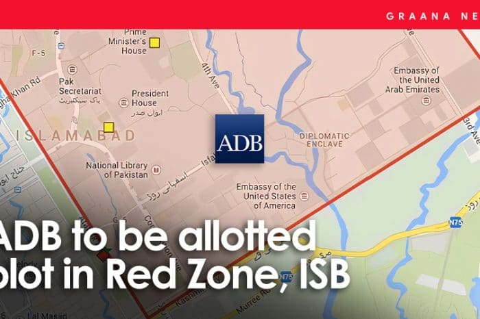 ADB to be allotted plot in Red Zone, ISB