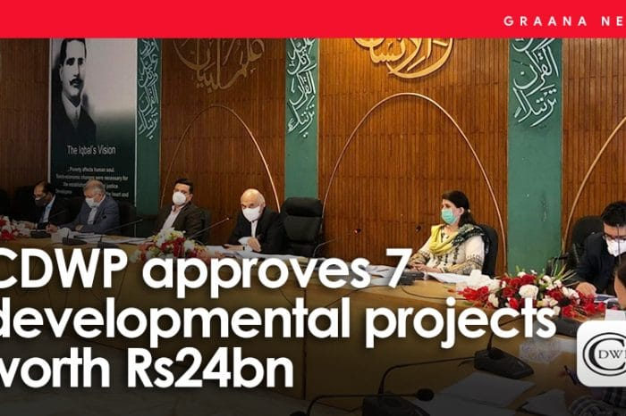 CDWP approves 7 developmental projects worth Rs24bn