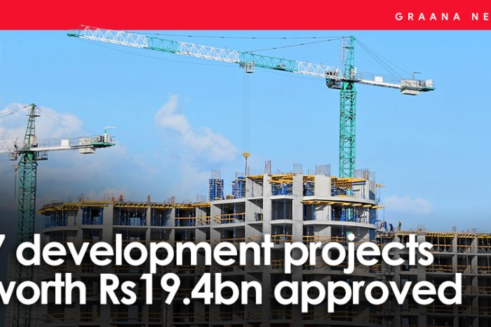 7 development projects worth Rs19.4bn approved