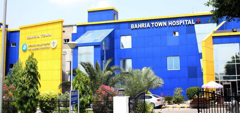 bahria town hospital lahore