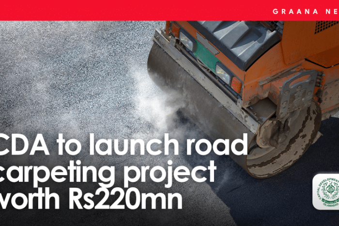 CDA to launch road carpeting project worth Rs220mn