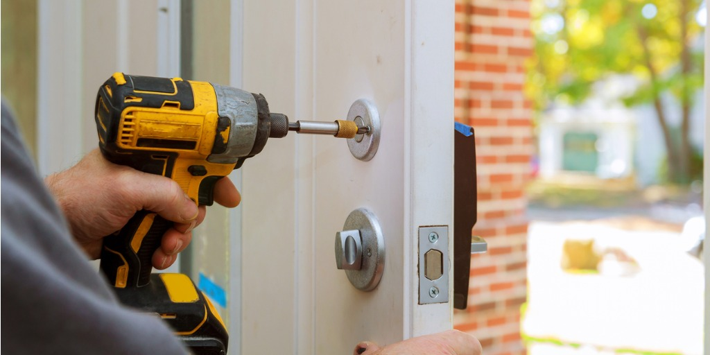 protect your home from break-in by replacing locks