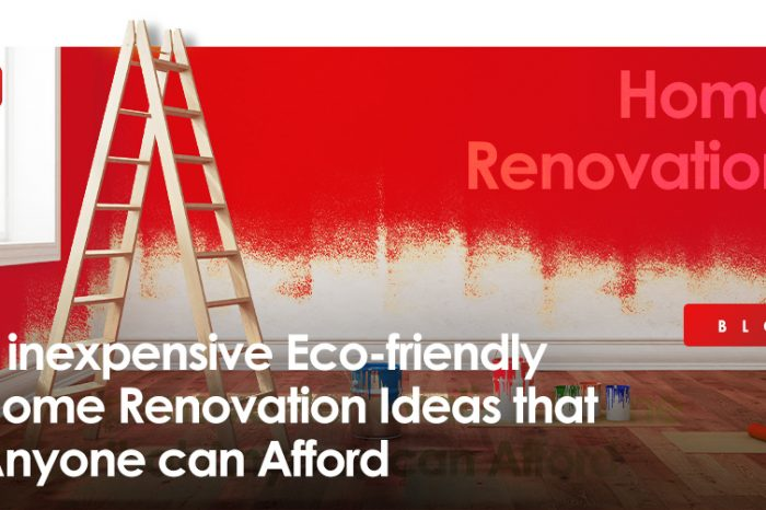 5 inexpensive Eco-friendly Home Renovation Ideas that Anyone can Afford