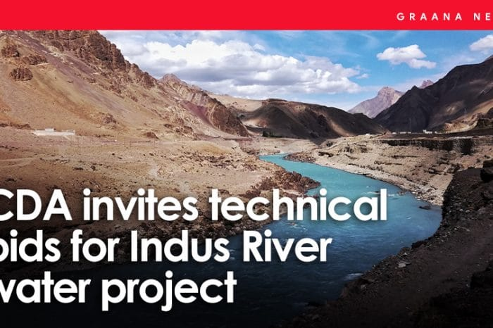 CDA invites technical bids for Indus River water project