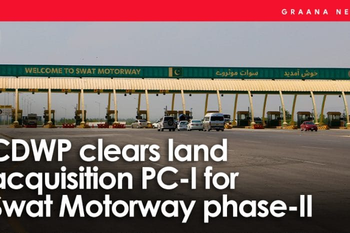 CDWP clears land acquisition PC-I for Swat Motorway phase-II