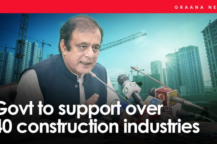 Govt to support over 40 construction industries