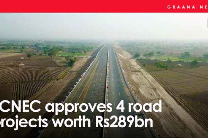 ECNEC approves 4 road projects worth Rs289bn
