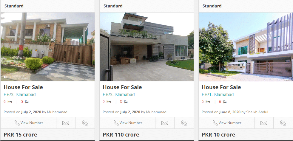 house for sale in f-6 islamabad