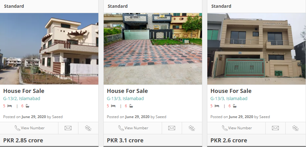 house for sale in g 13 islamabad