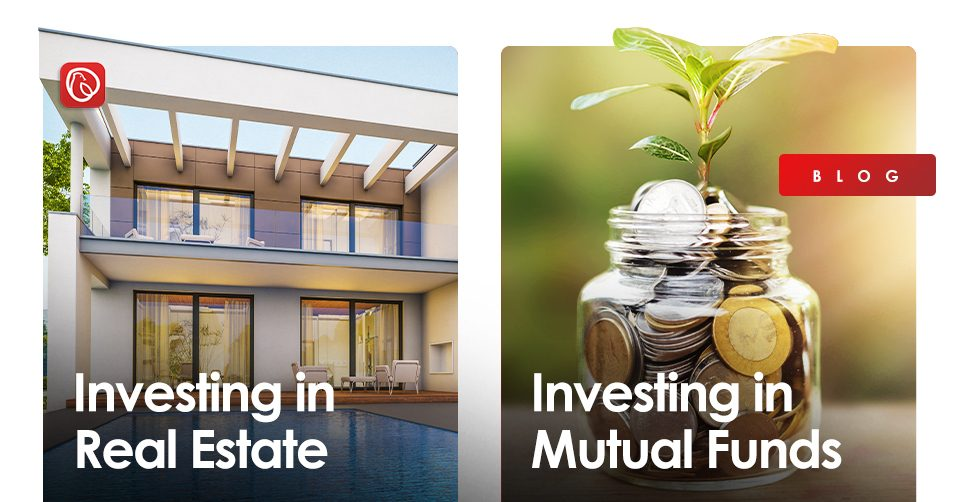 investing in real estate vs mutual funds