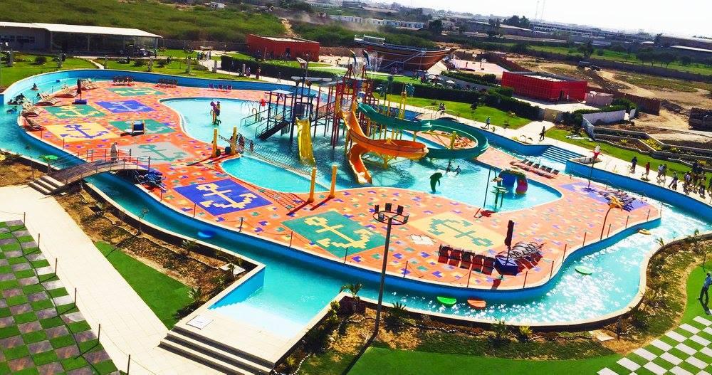 Burhani Recreational water Park karachi