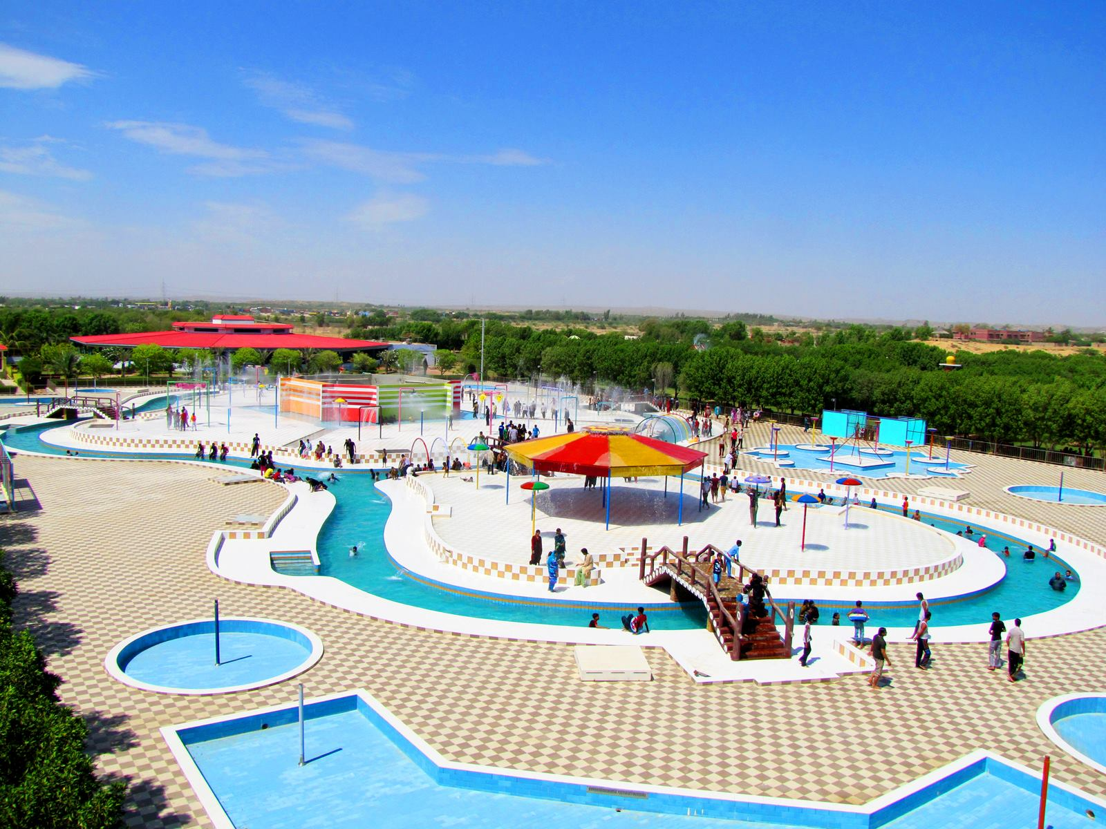 Great Fiesta water park in karachi