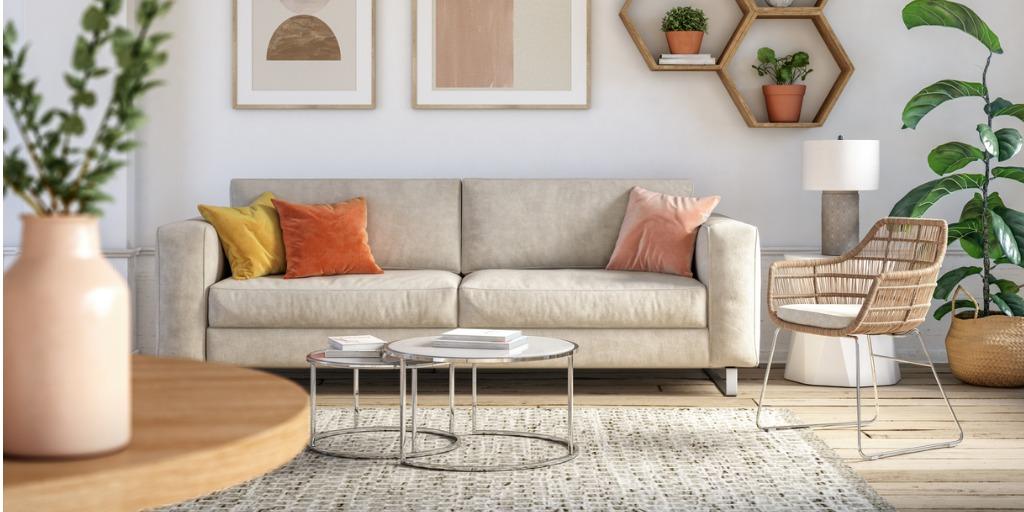 earthy tone furniture design