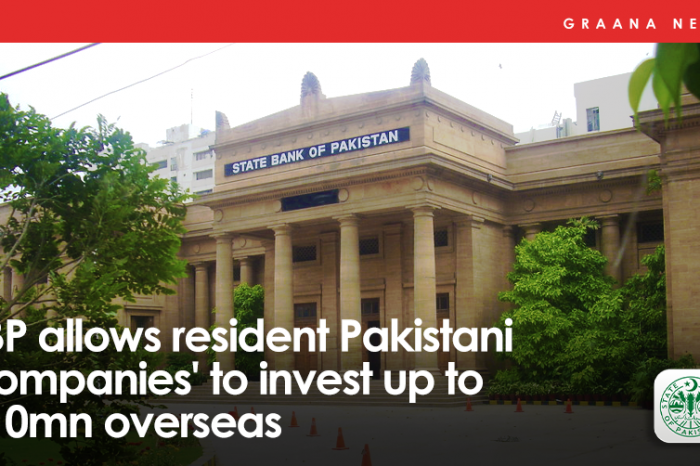 SBP allows resident Pakistani Companies' to invest up to $10mn overseas