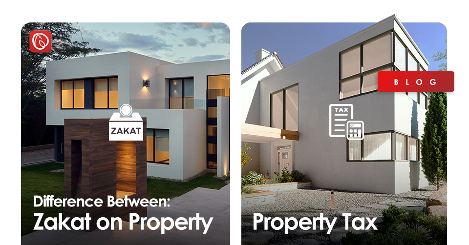 zakat on property and property tax
